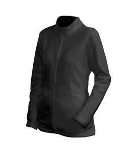 Mikina dámská fleece, black | XXL
