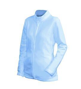 Mikina dámská fleece, skyblue   XXL