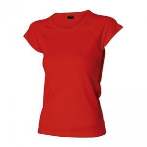 Tričko dámské raglánový rukáv, red | L