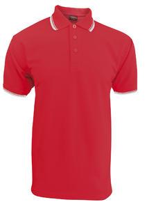 POLOKOŠILE PÁNSKÁ, red/white | XL