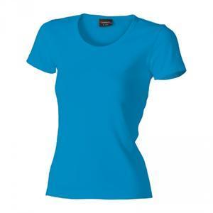 Tričko dámské krátký rukáv, atolblue   | S