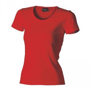 Tričko dámské krátký rukáv, red   | XL