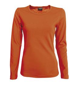 Tričko dámské dlouhý rukáv, bronze | S