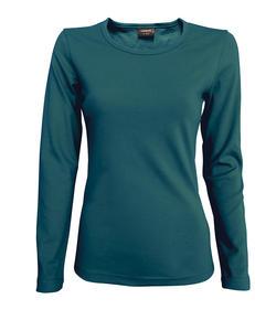 Tričko dámské dlouhý rukáv, darkpetrol | L