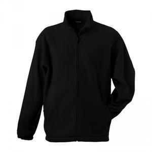 Mikina pánská fleece, black   3XL