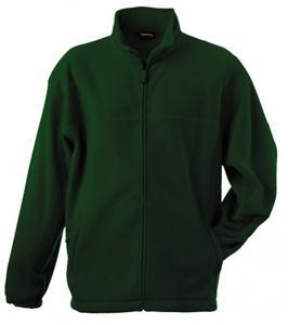 Mikina pánská fleece, bottlegreen | M
