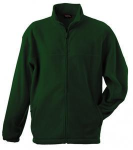 Mikina pánská fleece, bottlegreen  3XL