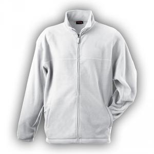 Mikina pánská fleece, white | M