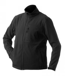Softshellová bunda pánská, black | XL