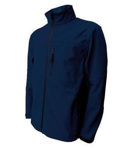 Softshellová bunda pánská, navy   L
