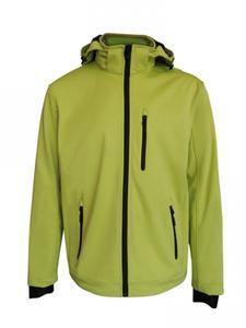 Softshellová bunda pánská, lightgreen | M