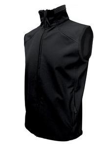 Softshellová vesta pánská, black | XXL