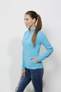 Mikina dámská fleece, kapsy - 1