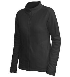 Mikina dámská fleece, kapsy, black | M - 1