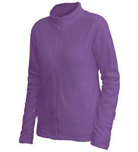Mikina dámská fleece, kapsy, lila | L