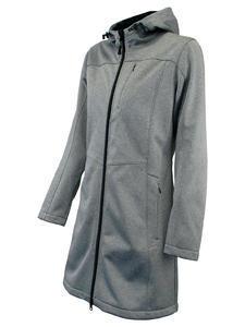 Softshellová bunda dámská, grey-melange | S