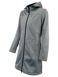 Softshellová bunda dámská, grey-melange | L