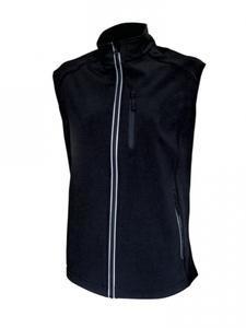 Softshellová vesta dámská, black | S - 1