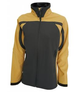 Softshellová bunda dámská, yellow | S
