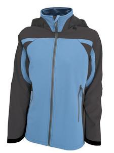 Softshellová bunda dámská kapuce, skyblue | S