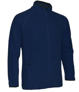 Mikina pánská fleece, navy | L