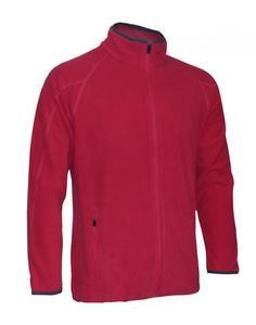 Mikina pánská fleece, red | M