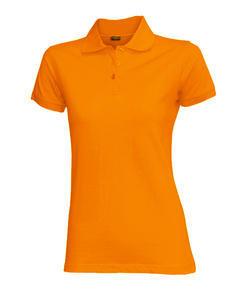 Polokošile dámská, orange   M