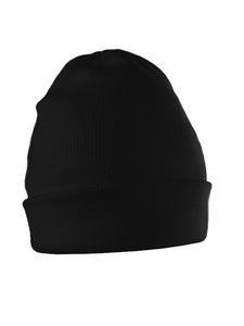 Čepice zimní, black