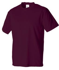 Tričko pánské krátký rukáv, maroon | XXS