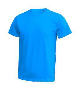 Tričko pánské krátký rukáv bez etikety, atolblue | L