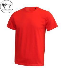 Tričko pánské krátký rukáv bez etikety, red | S