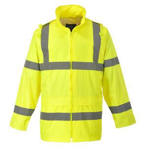 Bunda do deště, neon yellow | XXL - 1