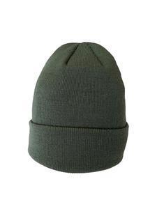 Čepice zimní, army green