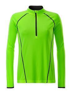 Dámské sportovní triko dlouhý rukáv, Bright Green | L