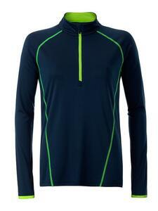 Dámské sportovní triko dlouhý rukáv, Navy Blue   L