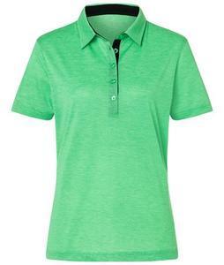 Polokošile dámská bicolor, green-white/ navy | S