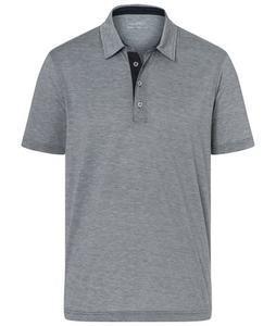 Polokošile pánská bicolor, carbon-white/ navy | L