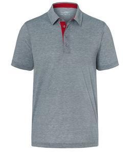 Polokošile pánská bicolor, navy-white/ red | S