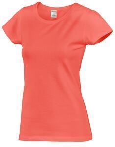 Tričko dámské krátký rukáv, cayenne | L
