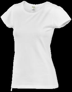 Tričko dámské krátký rukáv, white | M - 1
