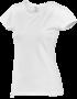 Tričko dámské krátký rukáv, white | M - 1/2