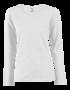 Tričko dámské dlouhý rukáv, white | S - 1/2