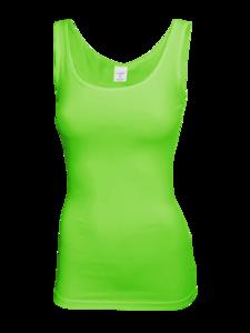 Tílko dámské 6 barev, flash green   M - 1