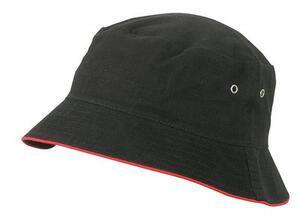 Klobouček, Black/ Red | L/XL