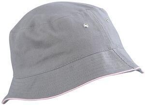 Klobouček, Grey/ Pink | L/XL