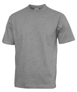 Tričko pánské krátký rukáv nadměrné velikosti, greymelange  | mix 12 ks (3XL 4XL 5XL á 4ks)