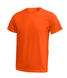 Tričko pánské krátký rukáv bez etikety, orange | M