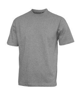 Tričko pánské krátký rukáv bez etikety, lightmelange | S
