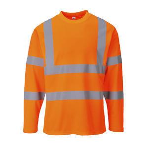 Triko Dlouhý rukáv Hi-Vis, orange | M