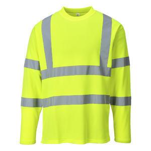 Triko Dlouhý rukáv Hi-Vis, neon yellow | L
